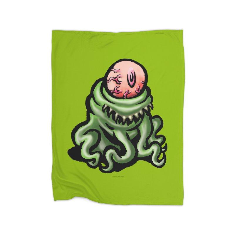 Squirmish Card A69: PINKEYE Home Blanket by STWALLSKULL's Shirt Shack