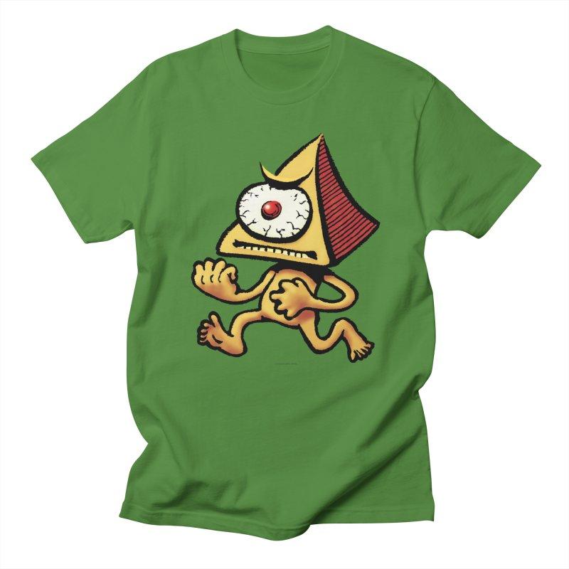 Squirmish Card A70: LOU MINETTI Men's T-Shirt by STWALLSKULL's Shirt Shack