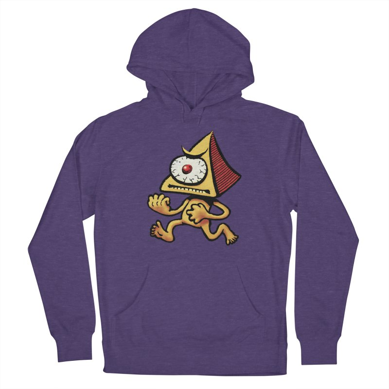 Squirmish Card A70: LOU MINETTI Men's French Terry Pullover Hoody by STWALLSKULL's Shirt Shack