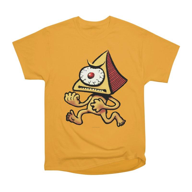 Squirmish Card A70: LOU MINETTI Men's Heavyweight T-Shirt by STWALLSKULL's Shirt Shack