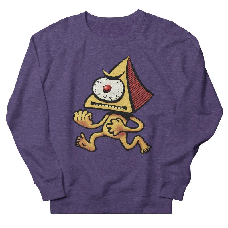 Squirmish Card A70: LOU MINETTI Women's French Terry Sweatshirt by STWALLSKULL's Shirt Shack