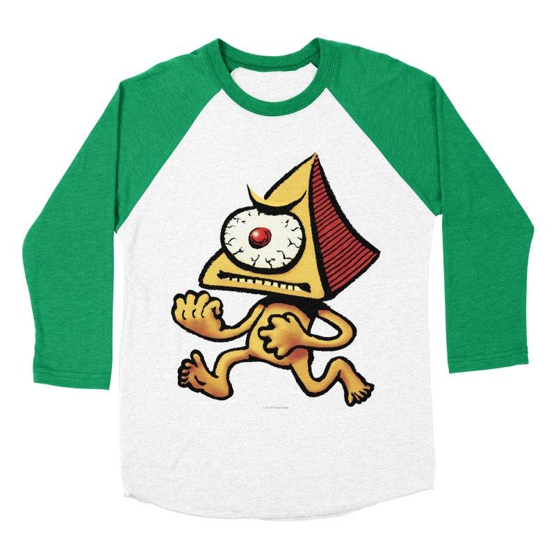 Squirmish Card A70: LOU MINETTI Men's Baseball Triblend Longsleeve T-Shirt by STWALLSKULL's Shirt Shack