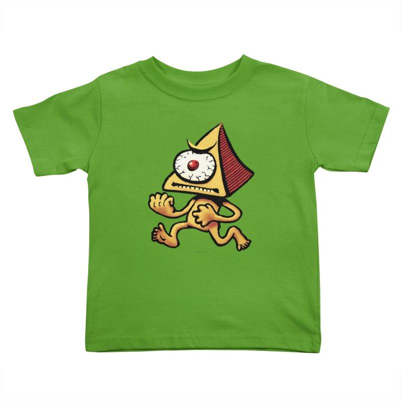 Squirmish Card A70: LOU MINETTI Kids Toddler T-Shirt by STWALLSKULL's Shirt Shack