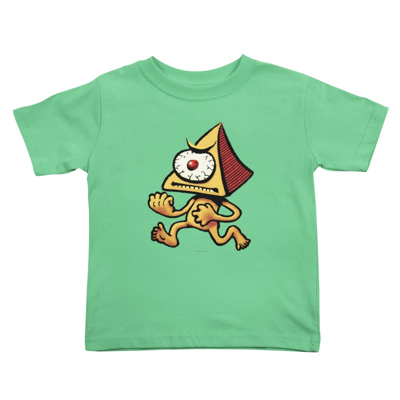 Squirmish Card A70: LOU MINETTI Kids Toddler T-Shirt by STWALLSKULL's Shirt Shack