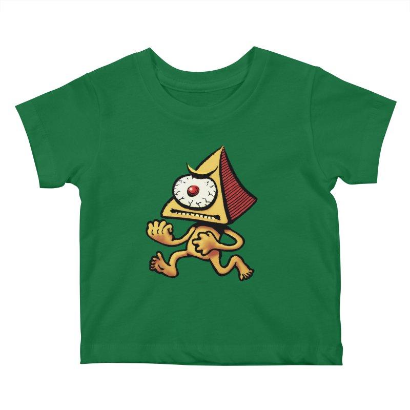 Squirmish Card A70: LOU MINETTI Kids Baby T-Shirt by STWALLSKULL's Shirt Shack