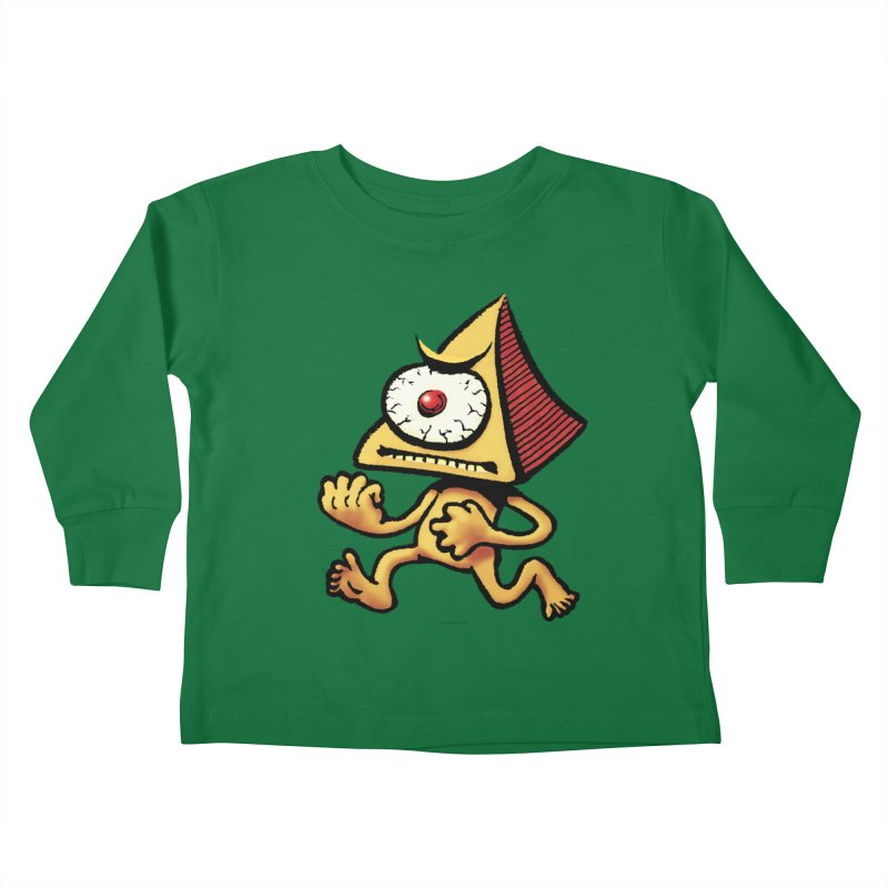 Squirmish Card A70: LOU MINETTI Kids Toddler Longsleeve T-Shirt by STWALLSKULL's Shirt Shack
