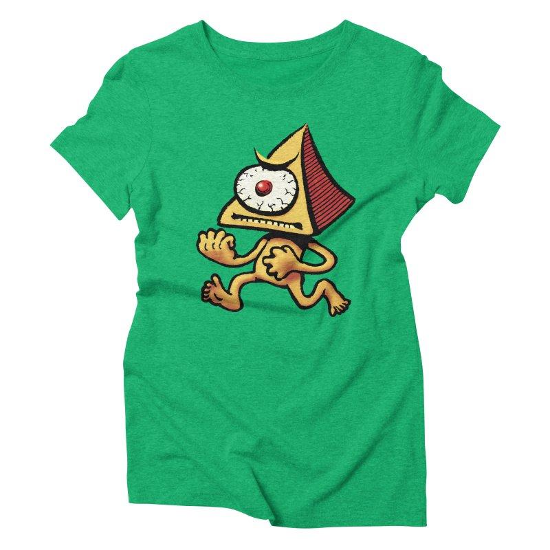 Squirmish Card A70: LOU MINETTI Women's Triblend T-Shirt by STWALLSKULL's Shirt Shack