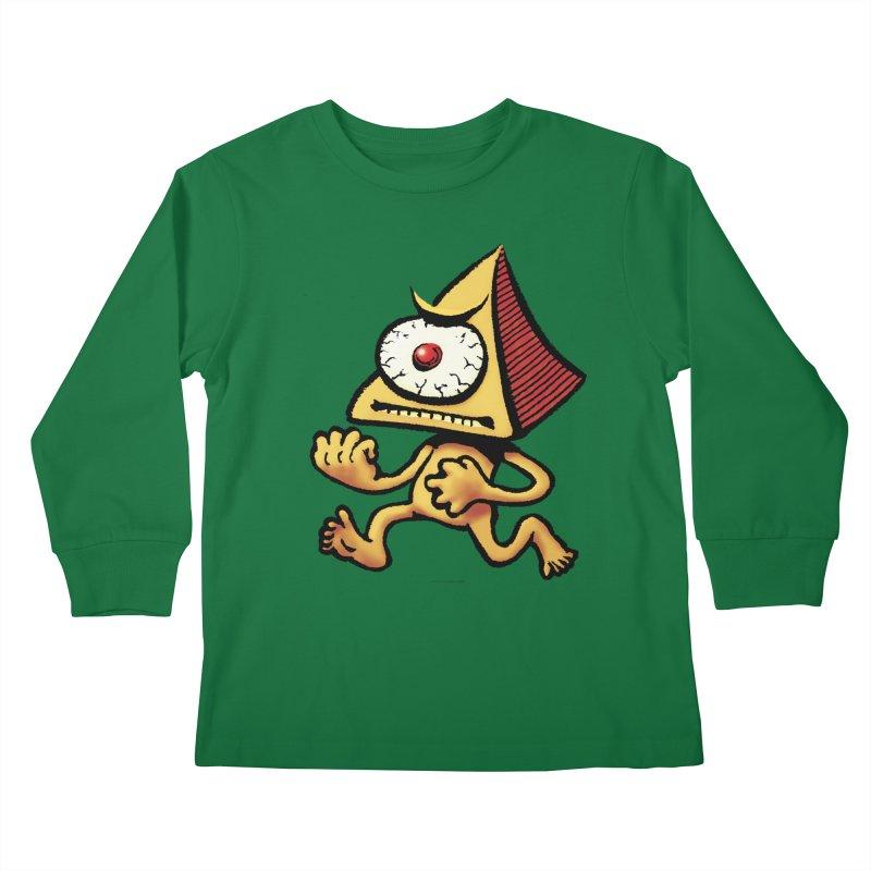 Squirmish Card A70: LOU MINETTI Kids Longsleeve T-Shirt by STWALLSKULL's Shirt Shack