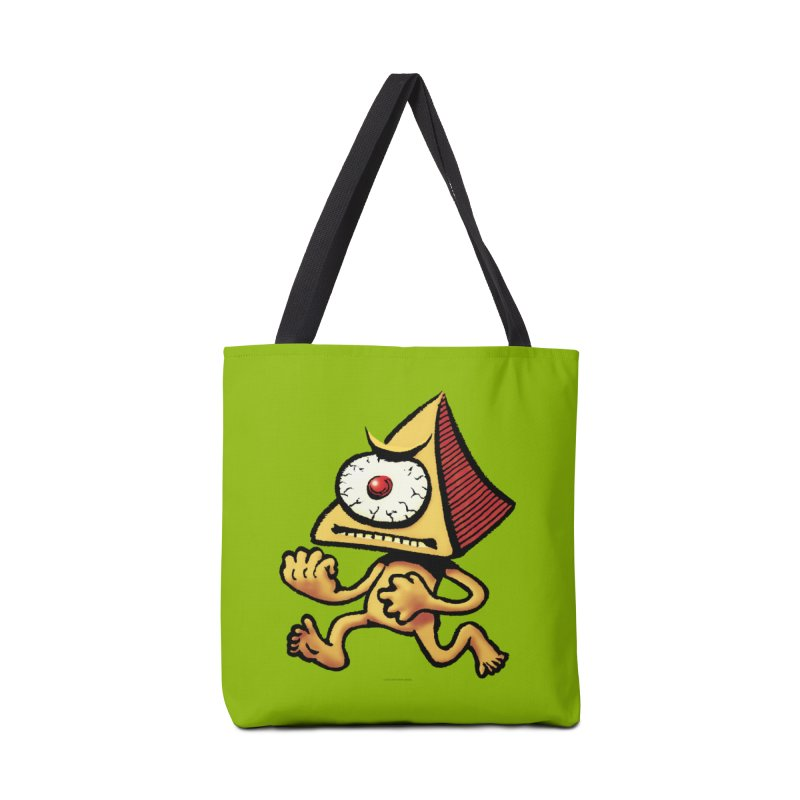 Squirmish Card A70: LOU MINETTI Accessories Tote Bag Bag by STWALLSKULL's Shirt Shack