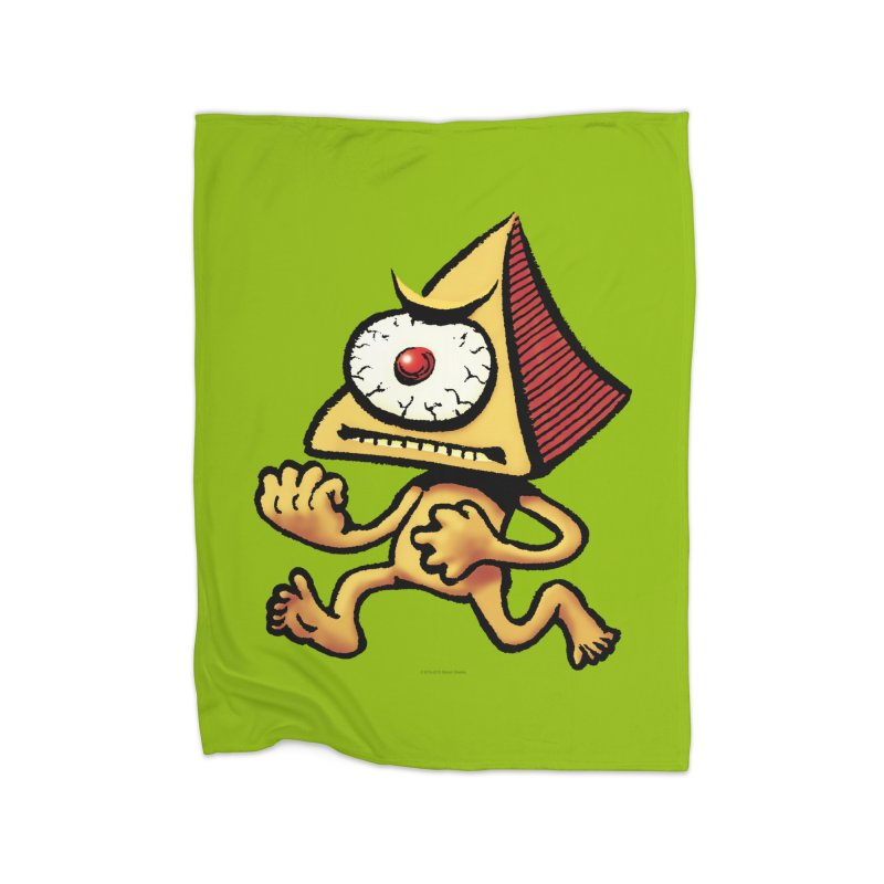 Squirmish Card A70: LOU MINETTI Home Fleece Blanket Blanket by STWALLSKULL's Shirt Shack