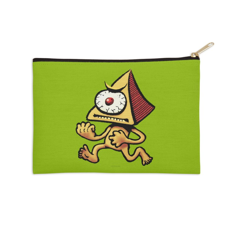 Squirmish Card A70: LOU MINETTI Accessories Zip Pouch by STWALLSKULL's Shirt Shack