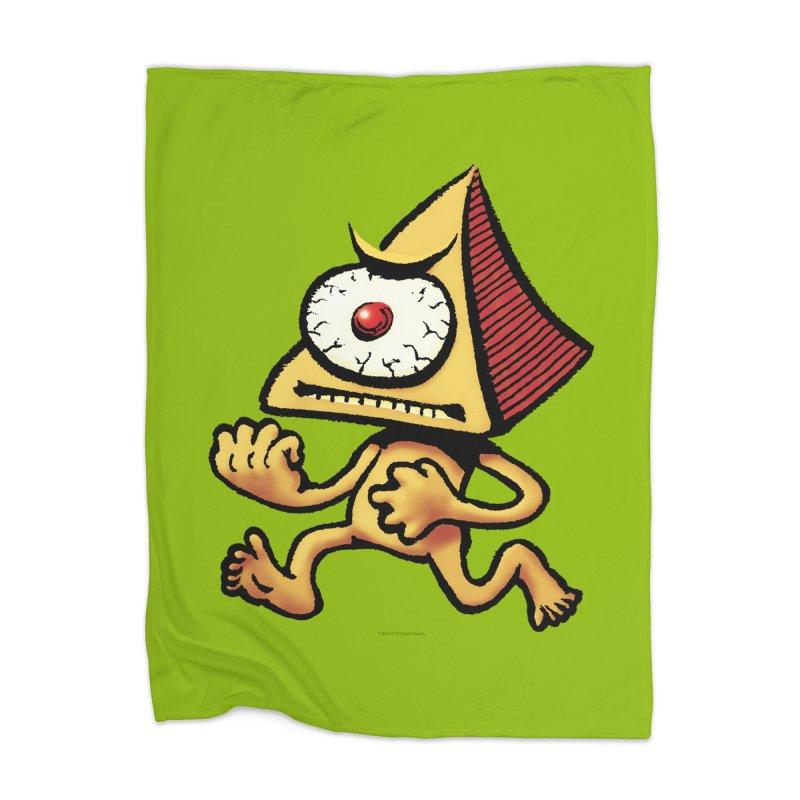 Squirmish Card A70: LOU MINETTI Home Blanket by STWALLSKULL's Shirt Shack