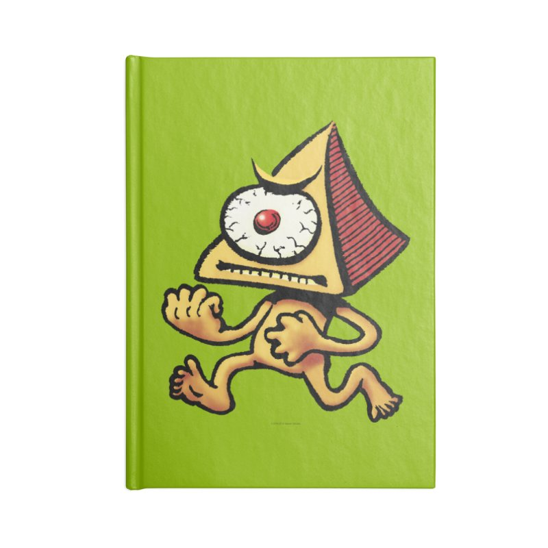 Squirmish Card A70: LOU MINETTI Accessories Lined Journal Notebook by STWALLSKULL's Shirt Shack