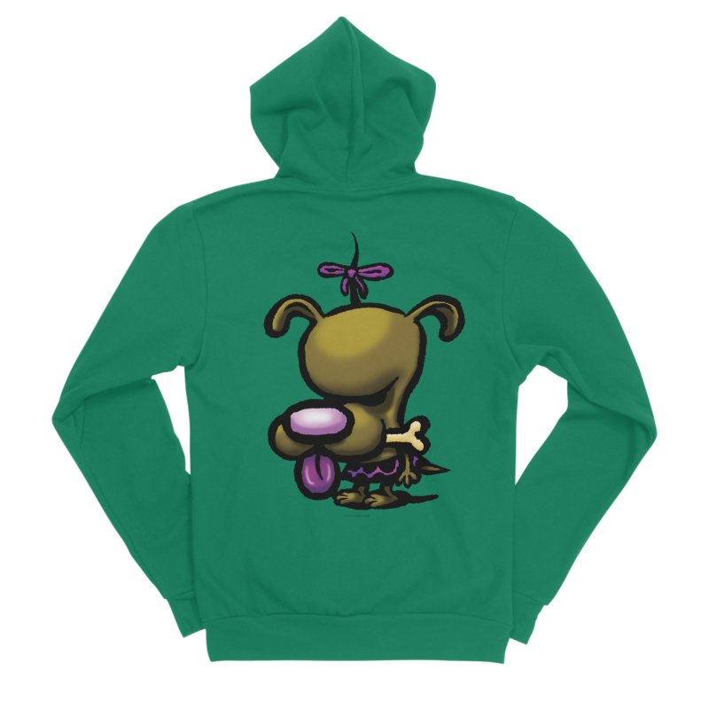 Squirmish Card B01: DOLLY BISCUIT Men's Zip-Up Hoody by STWALLSKULL's Shirt Shack