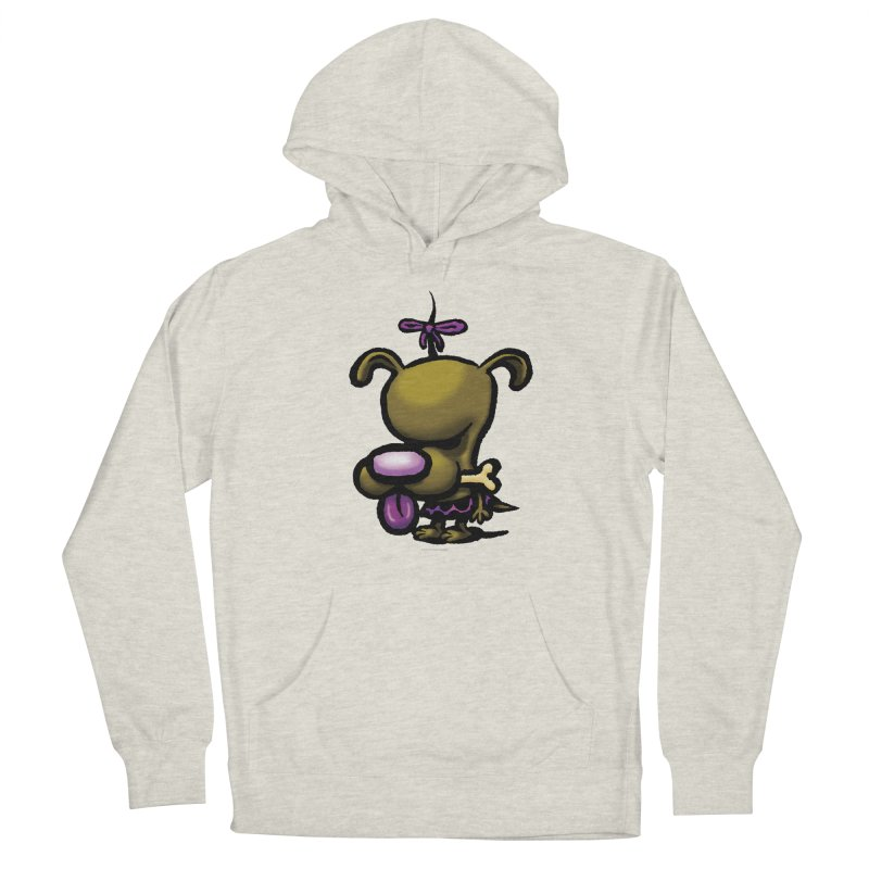 Squirmish Card B01: DOLLY BISCUIT Men's French Terry Pullover Hoody by STWALLSKULL's Shirt Shack