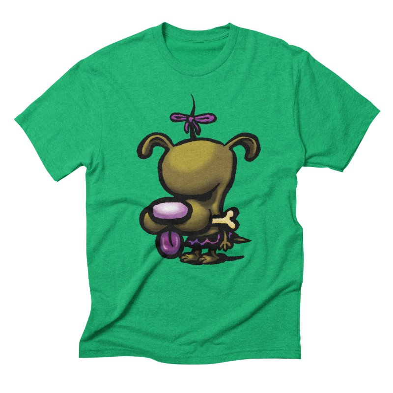 Squirmish Card B01: DOLLY BISCUIT Men's Triblend T-Shirt by STWALLSKULL's Shirt Shack