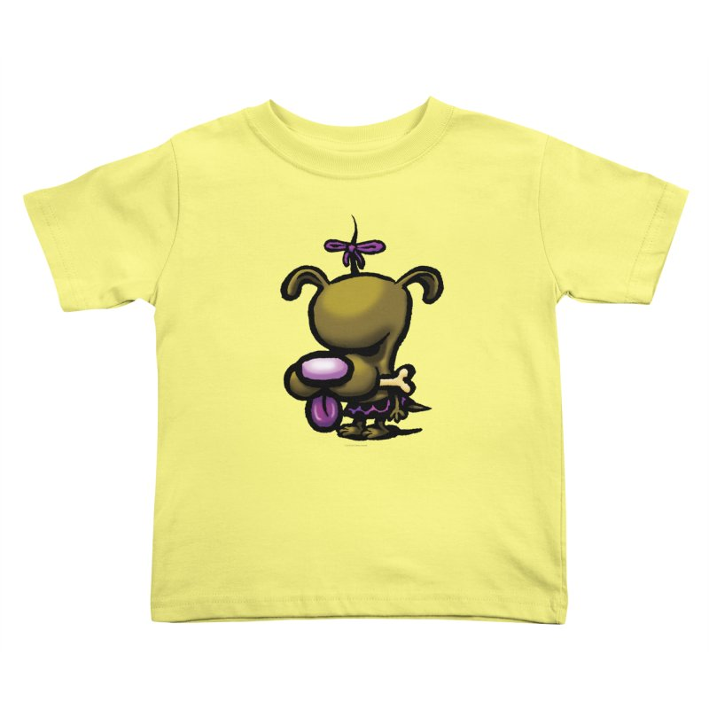 Squirmish Card B01: DOLLY BISCUIT Kids Toddler T-Shirt by STWALLSKULL's Shirt Shack