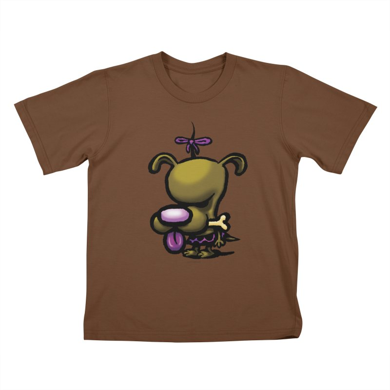 Squirmish Card B01: DOLLY BISCUIT Kids T-Shirt by STWALLSKULL's Shirt Shack