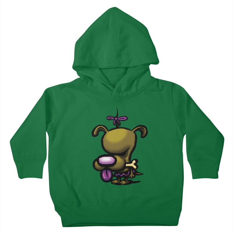 Squirmish Card B01: DOLLY BISCUIT Kids Toddler Pullover Hoody by STWALLSKULL's Shirt Shack