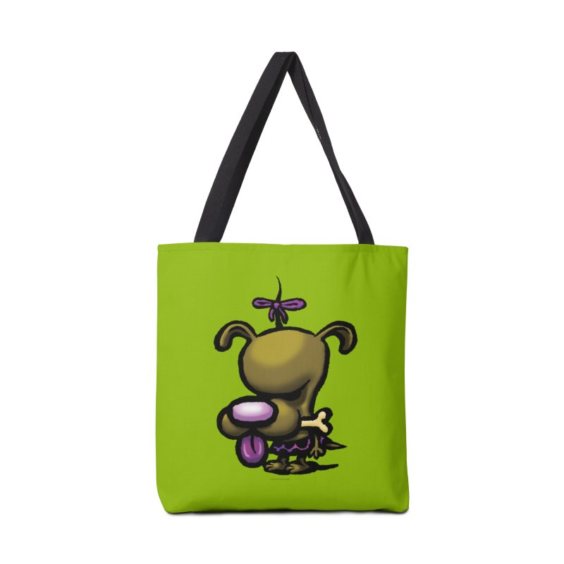 Squirmish Card B01: DOLLY BISCUIT Accessories Tote Bag Bag by STWALLSKULL's Shirt Shack