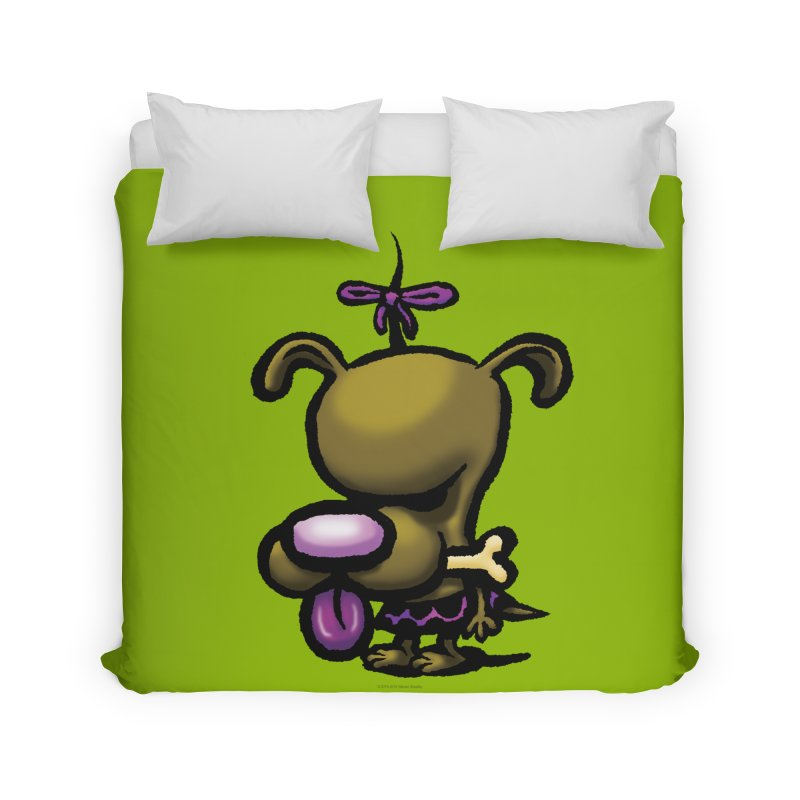 Squirmish Card B01: DOLLY BISCUIT Home Duvet by STWALLSKULL's Shirt Shack