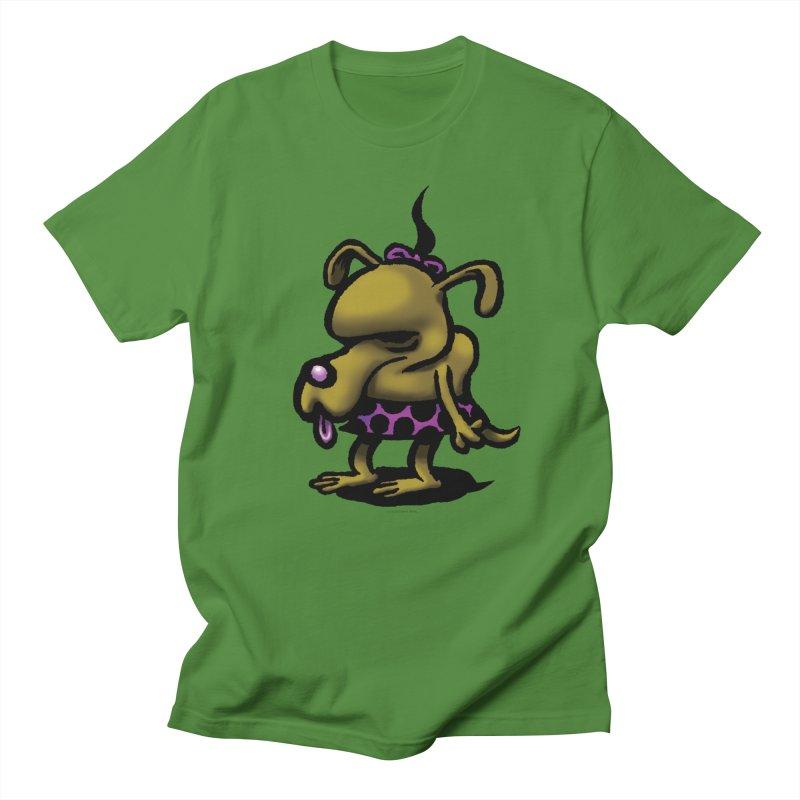 Squirmish Card B02: SALLY BISCUIT Men's T-Shirt by STWALLSKULL's Shirt Shack