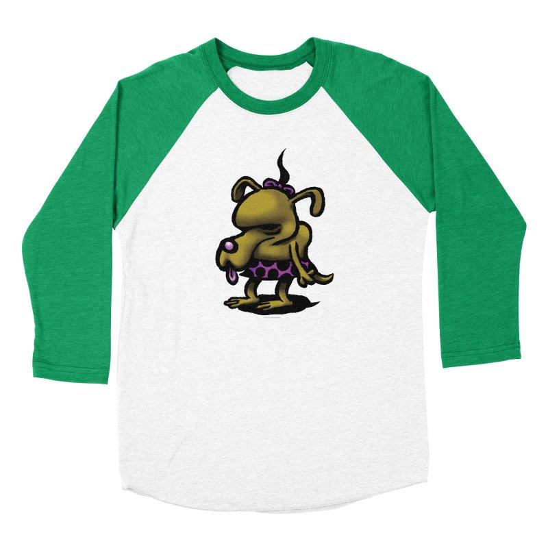 Squirmish Card B02: SALLY BISCUIT Women's Baseball Triblend Longsleeve T-Shirt by STWALLSKULL's Shirt Shack