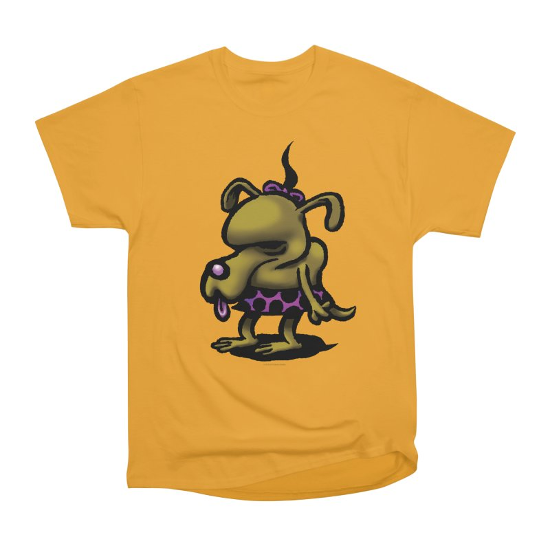 Squirmish Card B02: SALLY BISCUIT Men's Heavyweight T-Shirt by STWALLSKULL's Shirt Shack