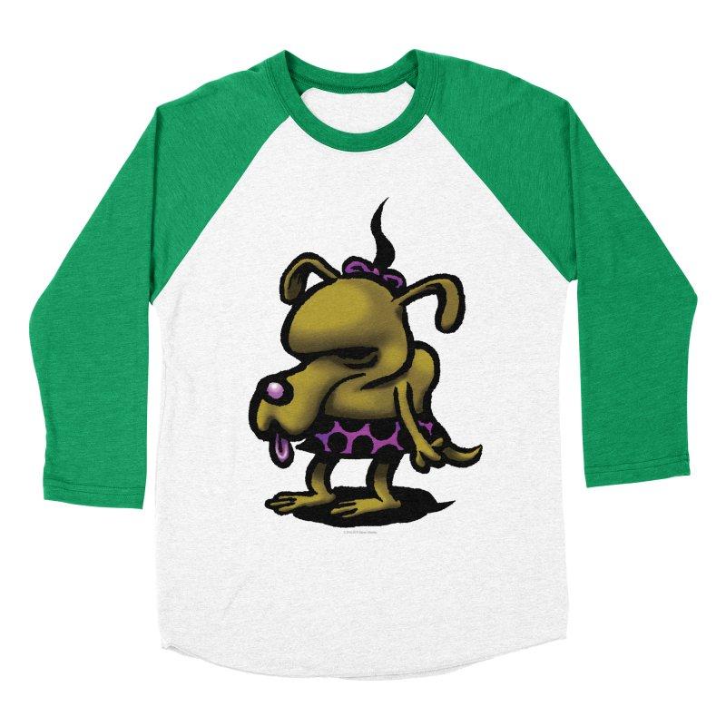 Squirmish Card B02: SALLY BISCUIT Men's Baseball Triblend Longsleeve T-Shirt by STWALLSKULL's Shirt Shack