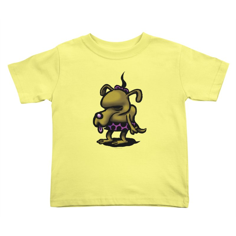 Squirmish Card B02: SALLY BISCUIT Kids Toddler T-Shirt by STWALLSKULL's Shirt Shack