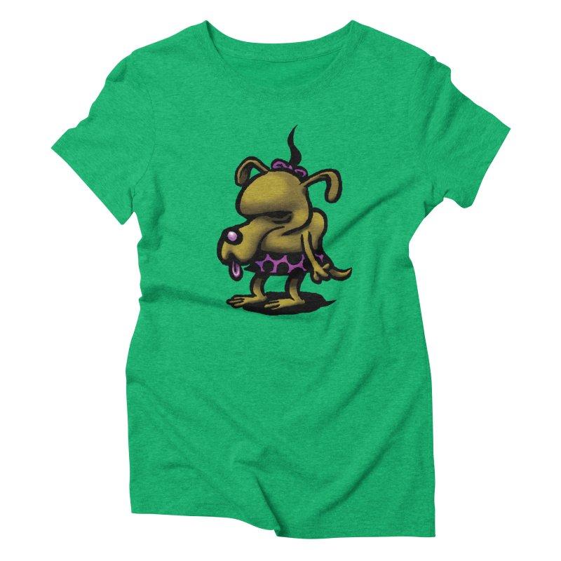 Squirmish Card B02: SALLY BISCUIT Women's T-Shirt by STWALLSKULL's Shirt Shack