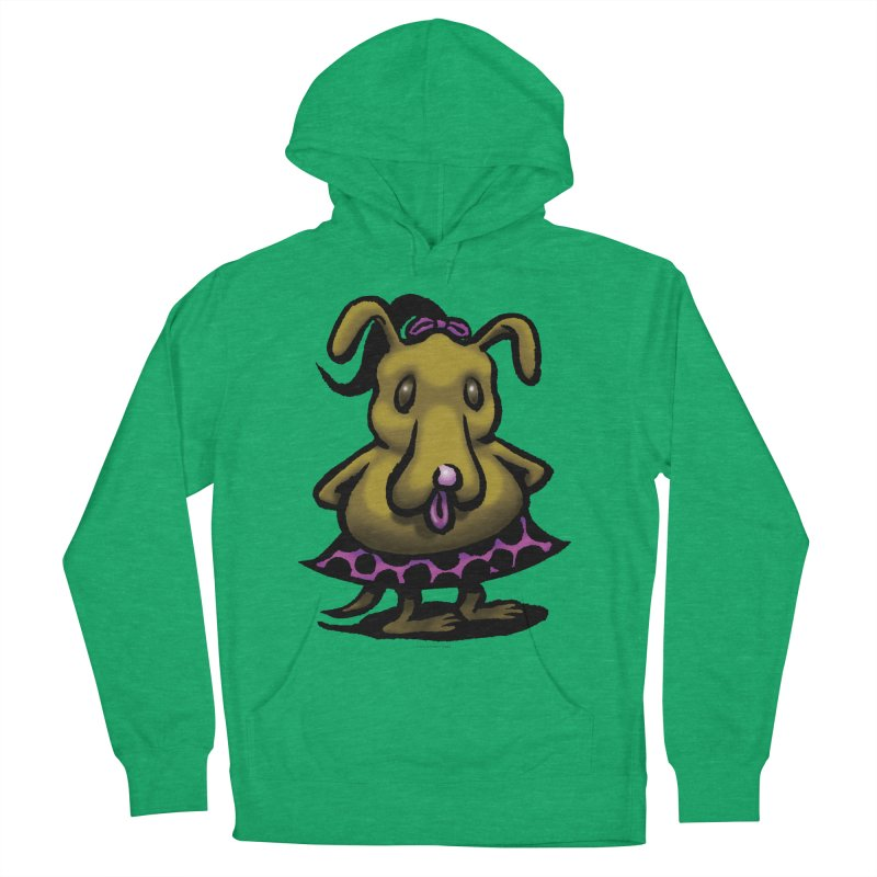 Squirmish Card B03: BETTY BISCUIT Men's French Terry Pullover Hoody by STWALLSKULL's Shirt Shack