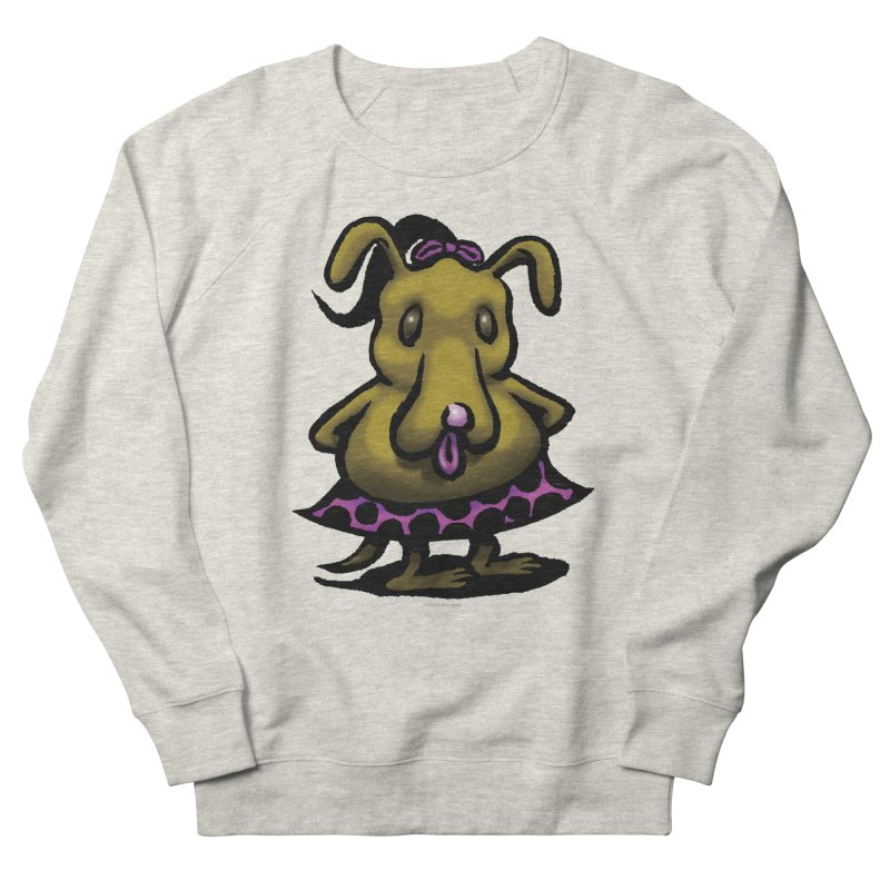 Squirmish Card B03: BETTY BISCUIT Men's French Terry Sweatshirt by STWALLSKULL's Shirt Shack