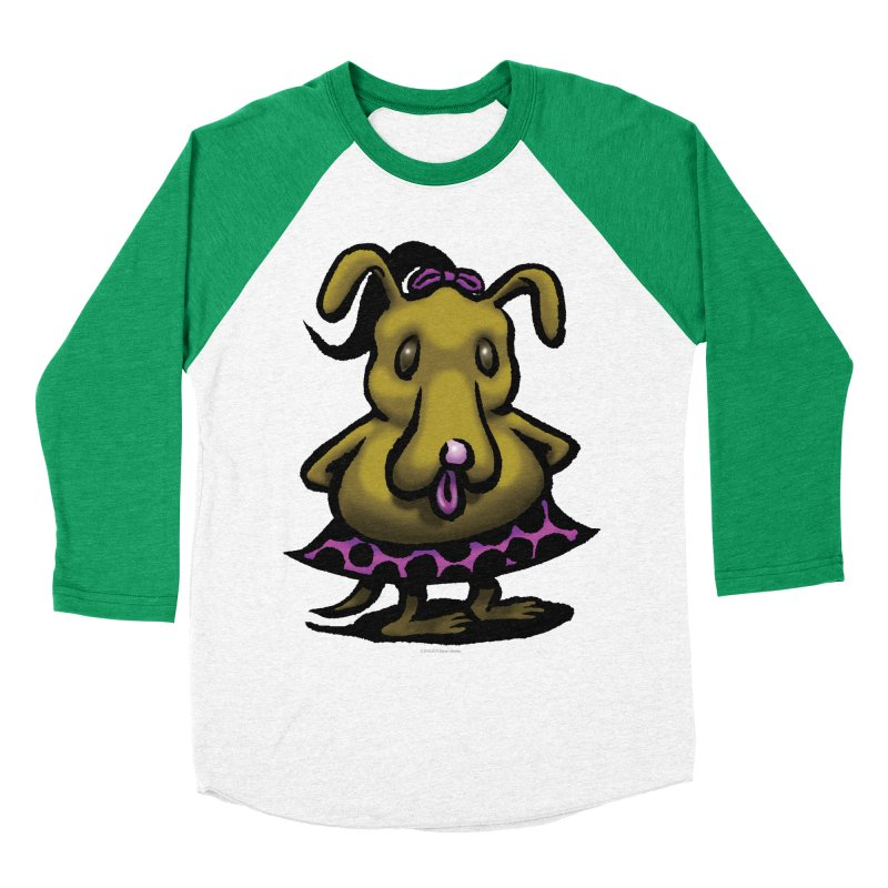 Squirmish Card B03: BETTY BISCUIT Women's Baseball Triblend Longsleeve T-Shirt by STWALLSKULL's Shirt Shack