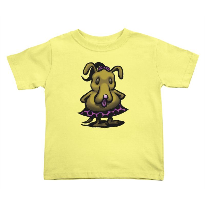 Squirmish Card B03: BETTY BISCUIT Kids Toddler T-Shirt by STWALLSKULL's Shirt Shack