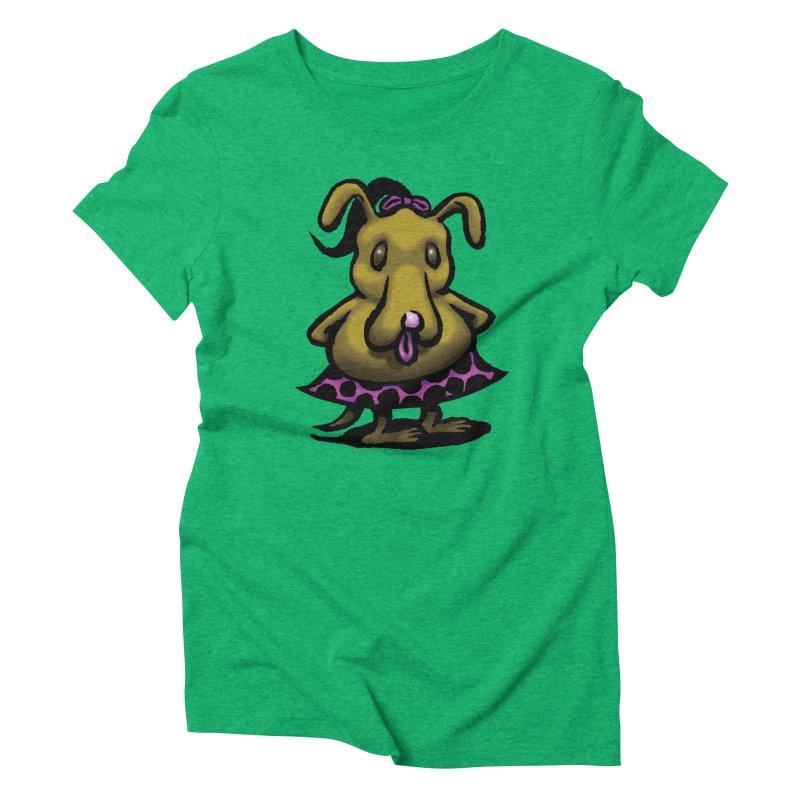 Squirmish Card B03: BETTY BISCUIT Women's T-Shirt by STWALLSKULL's Shirt Shack