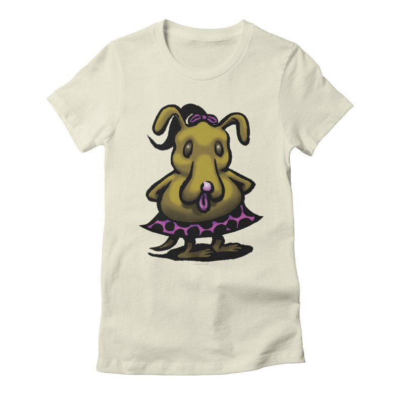 Squirmish Card B03: BETTY BISCUIT Women's Fitted T-Shirt by STWALLSKULL's Shirt Shack