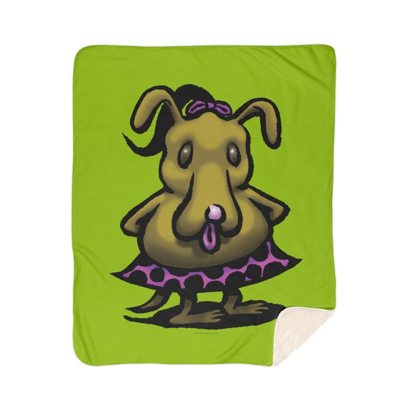 Squirmish Card B03: BETTY BISCUIT Home Blanket by STWALLSKULL's Shirt Shack