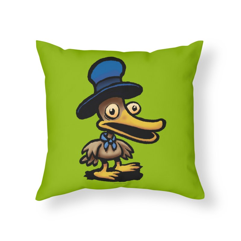 Squirmish Card C01: EGGS GRAVY Home Throw Pillow by STWALLSKULL's Shirt Shack