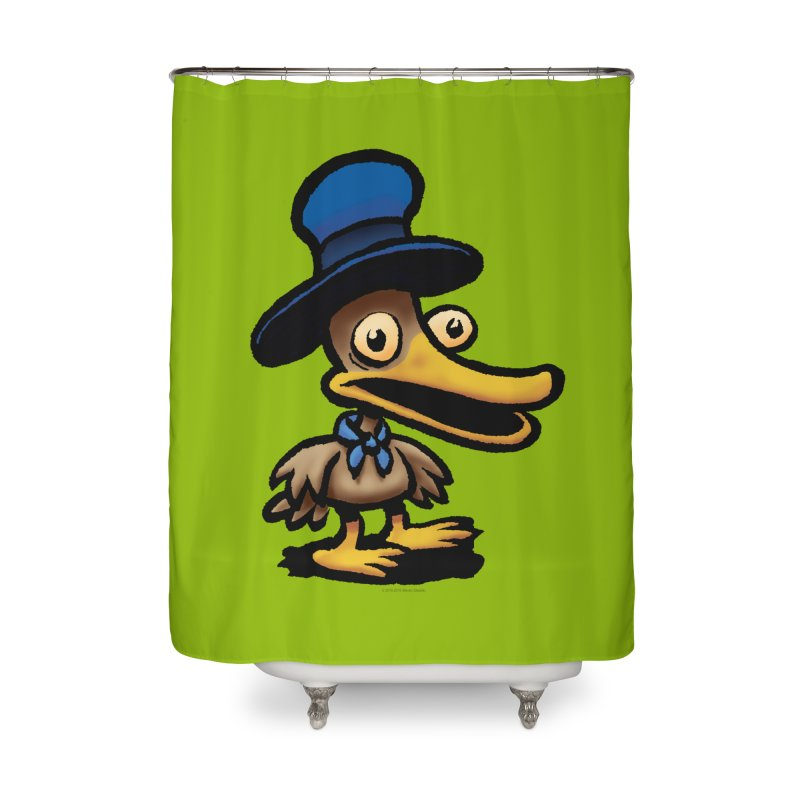 Squirmish Card C01: EGGS GRAVY Home Shower Curtain by STWALLSKULL's Shirt Shack