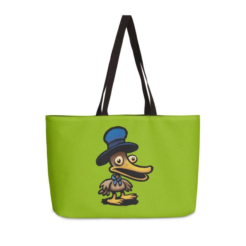 Squirmish Card C01: EGGS GRAVY Accessories Weekender Bag Bag by STWALLSKULL's Shirt Shack