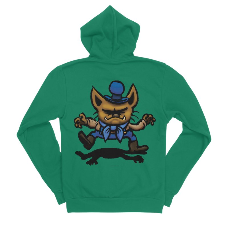 Squirmish Card C02: DON GRAVY Men's Sponge Fleece Zip-Up Hoody by STWALLSKULL's Shirt Shack