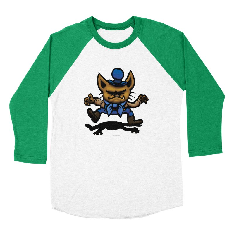 Squirmish Card C02: DON GRAVY Women's Baseball Triblend Longsleeve T-Shirt by STWALLSKULL's Shirt Shack