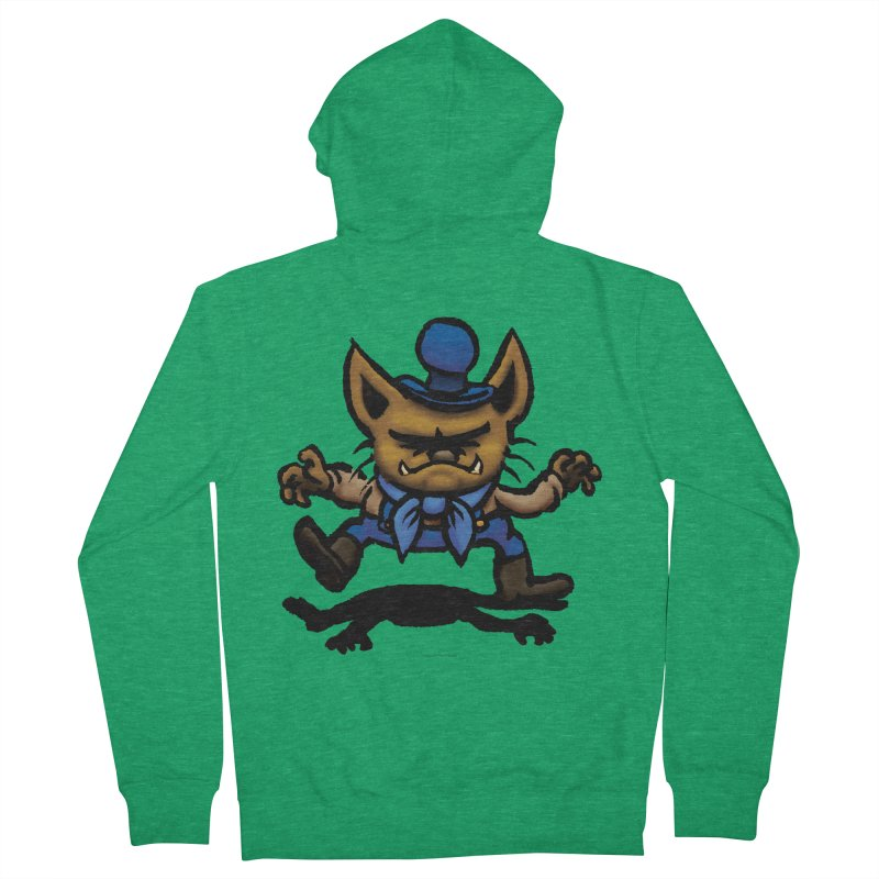 Squirmish Card C02: DON GRAVY Men's French Terry Zip-Up Hoody by STWALLSKULL's Shirt Shack
