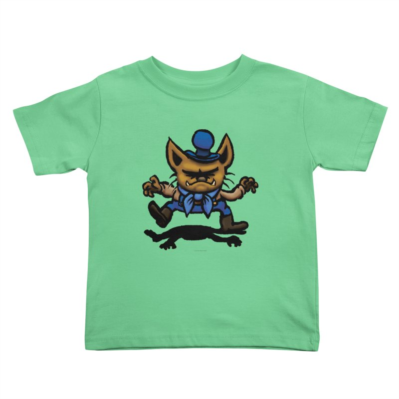 Squirmish Card C02: DON GRAVY Kids Toddler T-Shirt by STWALLSKULL's Shirt Shack