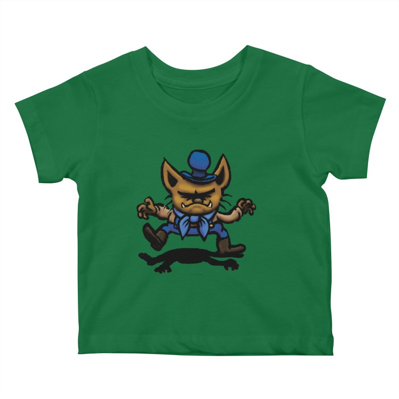 Squirmish Card C02: DON GRAVY Kids Baby T-Shirt by STWALLSKULL's Shirt Shack