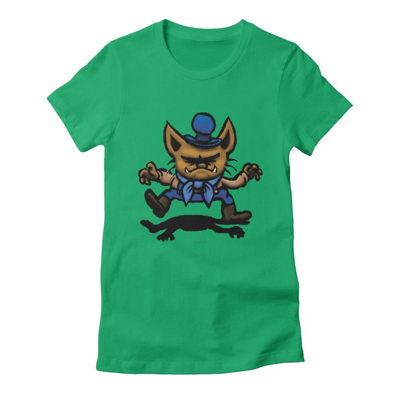 Squirmish Card C02: DON GRAVY Women's Fitted T-Shirt by STWALLSKULL's Shirt Shack