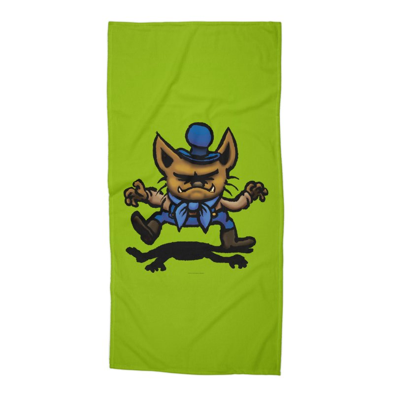Squirmish Card C02: DON GRAVY Accessories Beach Towel by STWALLSKULL's Shirt Shack