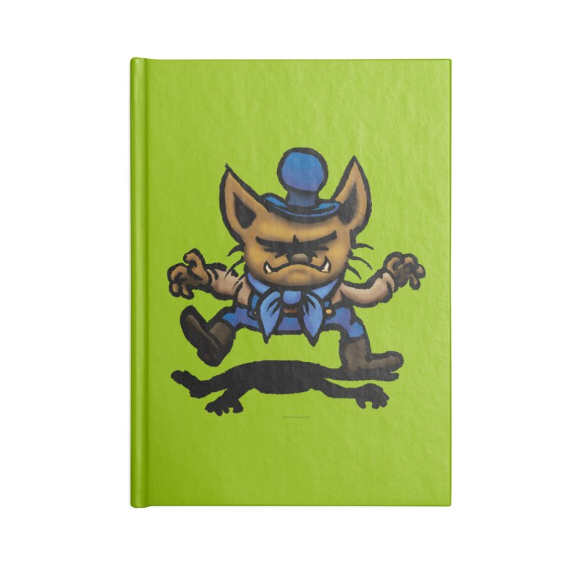 Squirmish Card C02: DON GRAVY Accessories Lined Journal Notebook by STWALLSKULL's Shirt Shack