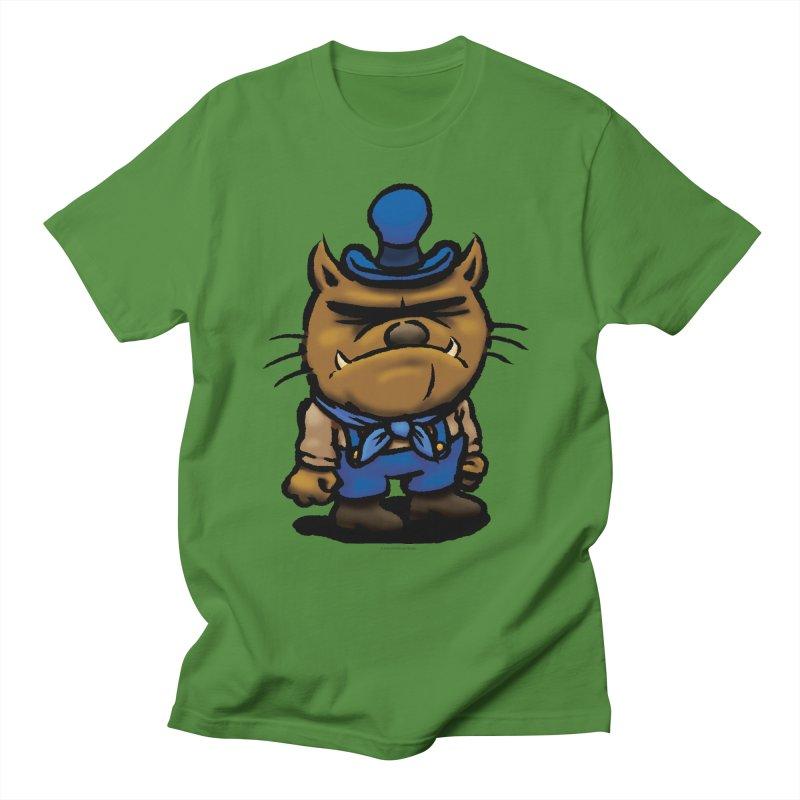Squirmish Card C03: DAN GRAVY Men's T-Shirt by STWALLSKULL's Shirt Shack